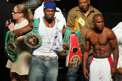 I will be sick when I am dead! And yes that it 50 cent holding my belts!