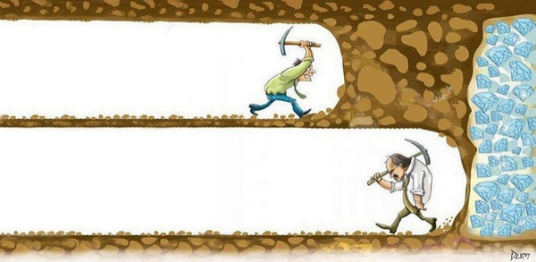 This is what happens when you give up!