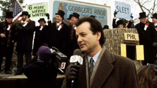 Well it's Groundhog day...Again!