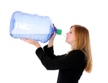 They say drinking water will help you lose weight