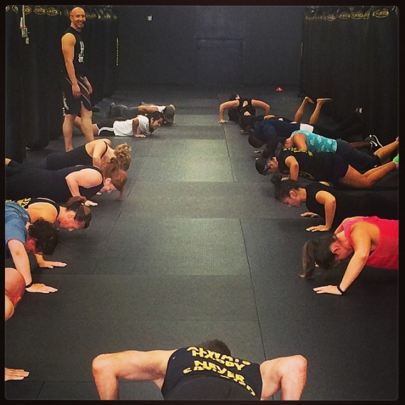 Push-up club!