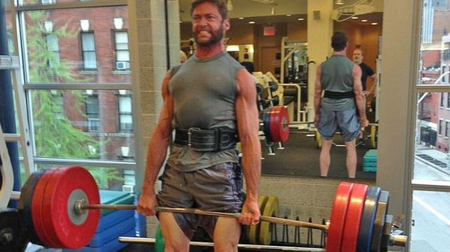 Wolverine working to get into that 1000-lb club