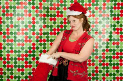 Jessica at the 2014 ugly sweater Kickboxing class