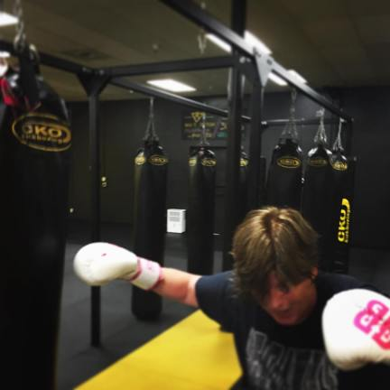Working the bag at CKO Seattle