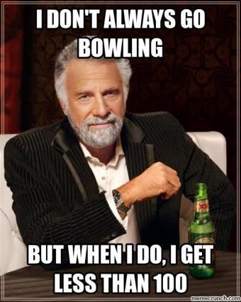 bowling meme