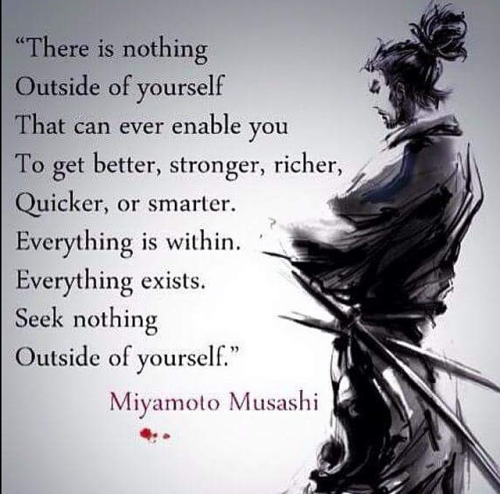 Musashi Quote  Rings About Truth