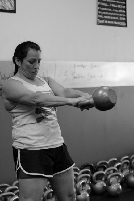 Kettlebell swing - Kettlebell class 2.0 next level fitness