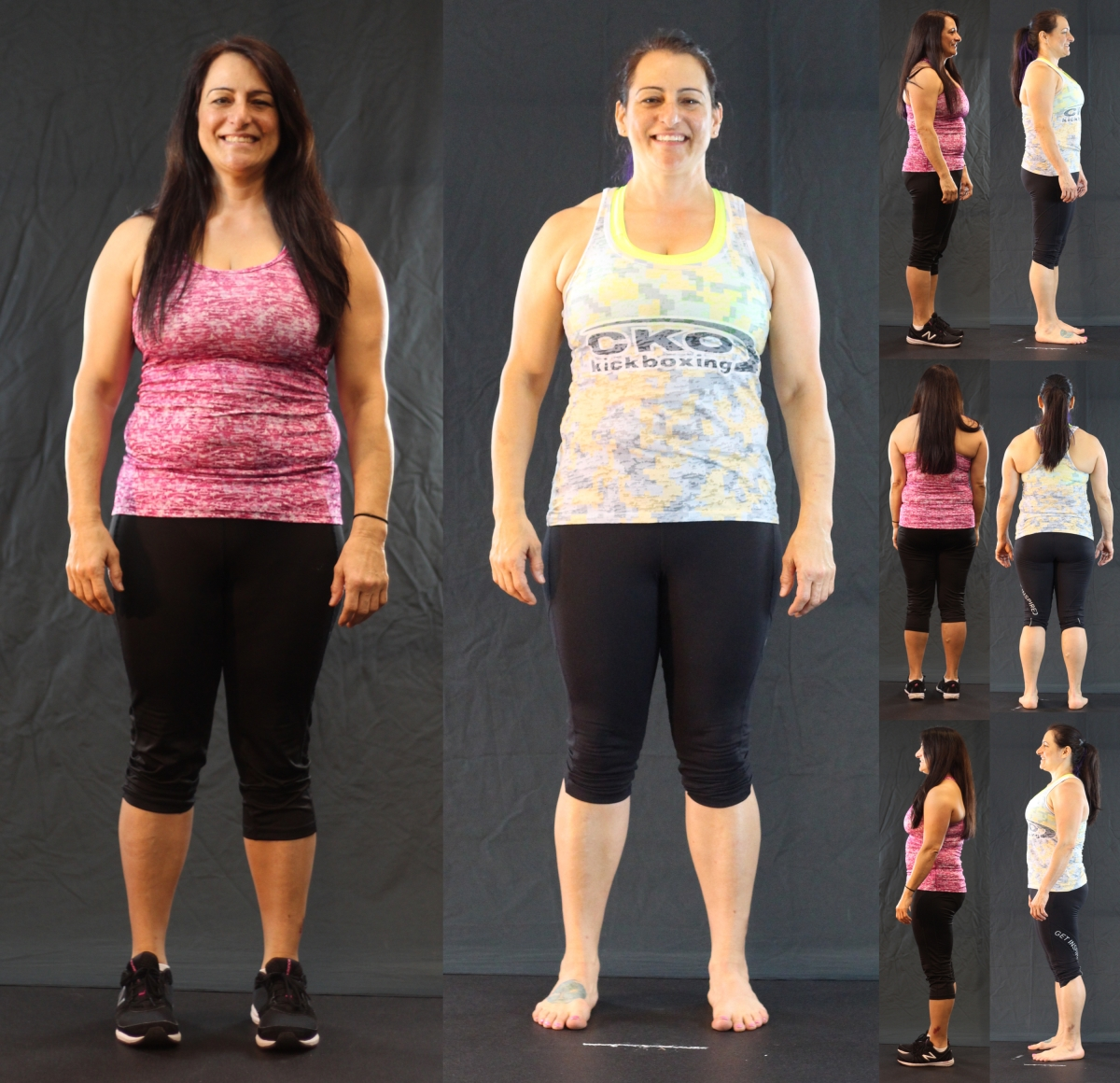 CKO 2.0 before and after. 10-week challenge