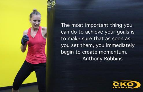 Anthony Robbins Quote, CKO Kickboxing