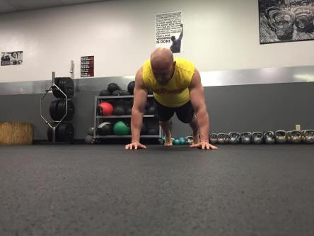 Garett Renon pushup experiment grease the groove