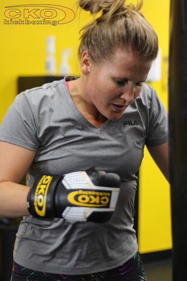 Jen Rash CKO Kickboxing Seattle